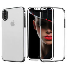 Original BASEUS Protective Cover iPhone XS X Glitter Pouch Case Black