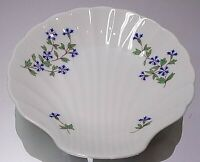 BERNARDAUD LIMOGES SEA SHELL SHAPED DECORATIVE SERVING DISH PLATE MADE IN FRANCE