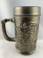 Oktoberfest Glass Lined Beer Mug 5 1/2in tall