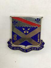 Us Military Lapel Pin ~ 18th Infantry Regiment Army Unit Crest