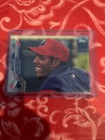VLADIMIR GUERRERO 2020 Topps Series 1 SP PHOTO VARIATION #183 Expos