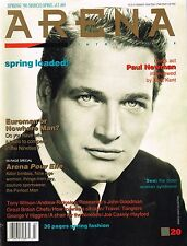 ARENA #20 Spring 1990 PAUL NEWMAN Andrew Ridgeley MICHEL HADDI @very good@