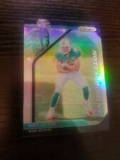 Mike Gesicki 2018 Panini Prizm Rookie Introduction Insert #RI-16 Silver Dolphins