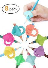Pencil Grips For Kids Handwriting Pack Of 8 Grip Pencils School Supplies Holder
