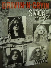 Drivin N Cryin 1993 Two-sided Promo Poster for Smoke mint condition