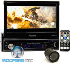 "pk FARENHEIT TI895B 7"" TV CD DVD BLUETOOTH MP3 USB SD AUX STEREO + BACKUP CAMERA"