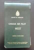 Airport Runways Canada Air Pilot West Ministry of Transport Winnipeg to Pacific