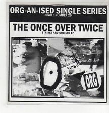 (GH468) The Once Over Twice, Strikes and Gutters EP - CD