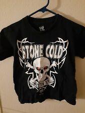 Kids XS WWE Stone Cold Austin Shirt Austin 3:16 Skull
