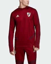 River Plate Adidas Felpa Allenamento Training Top Sweatshirt Amaranto 2019 20