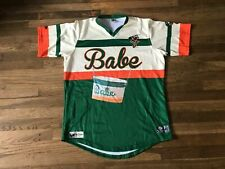 Greensboro Grasshoppers Authentic Team Issued Babe Jersey MILB