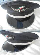 CAPPELLO CAPOTRENO FERROVIE DELLO STATO Originale FS anni 80 non più in uso