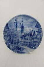Kaiser Porcelain Decorative Plate Kitzbuhel Blue 10.5 cm