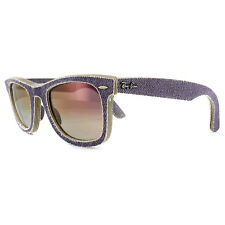 ad465ac6b2972 Authentic Ray-Ban Denim Wayfarer Sunglasses Violet Light Gradient Rb2140 50
