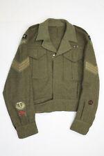 WW2 Canadian RCEME Battle Dress Jacket Named