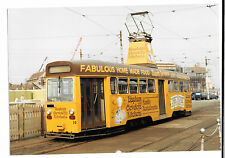 Tram Photo Blackpool Corporation Tramways OMO car 10, Bispham & Cleveleys Livery
