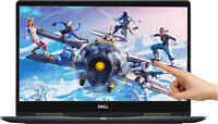 """NEW Dell 2-in-1 15.6"""" 4K Touch NVIDIA MX130 i7-8550U 4GHz 16GB 256GB SSD Backlit"""