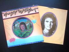 GARY WRIGHT THE LIGHT OF SMILES 1977 ORIGINAL UK LP PICTURE INNER & LYRICS EX/EX
