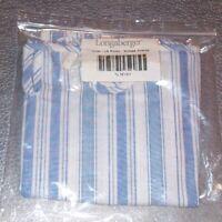 Longaberger Vintage Ticking LARGE PICNIC Basket Liner ~ Brand New in Bag!