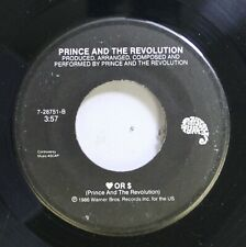 Rock 45 Prince And The Revolution - Love Or Money / Kiss On Paisley Park Records