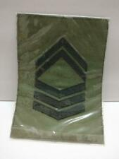 Singapore Army RSAF 1ST SGT Flying Suit Insignia Embroidered Patch x01 F/S A2238