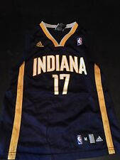 Mike Dunleavy Indiana Pacers Adidas Jersey Size Youth Medium (10-12) #17