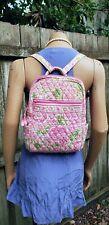 Rare VTG Vera Bradley Petal Pink Small BackpackPurse
