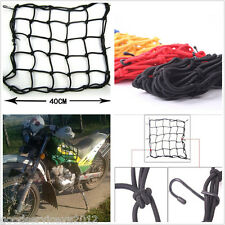 Motorcycle Rear Luggage Helmet Cargo Elasticated Net Bag With 6 Hooks For Can-Am
