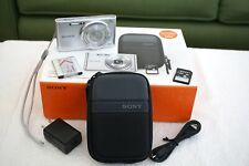 Sony CyberShot DSC-W830 20.1MP, 8x Zoom, Digital Camera - Silver - MINT COND.