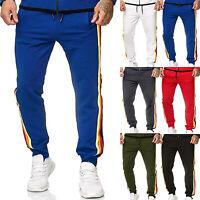 Mens Casual Jogging Sweatpants Sports Gym Jogger Sweat Pants Hip Hop Trousers US