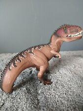 Schleich Dinosaur Giganotosaurus Brown Realistic 2014 Jurassic Figure 15010