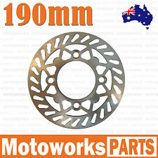 190mm Brake Caliper Disc Disk Rotor PIT PRO Trail Quad Dirt Bike ATV Buggy Gokar