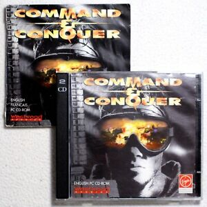 Command & Conquer (1995) - PC CD-ROM + Manual - DOS/Windows 95 - Westwood