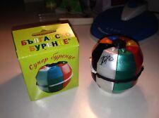 Rare Bulgarian Cask Barrel cube puzzle SIGNED Brain Teaser twisty vintage