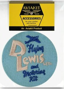 1930's D Lewis patch by Lewis Leathers Aviakit