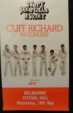 Original Cliff Richard Melbourne Tour Poster 1977