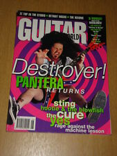 GUITAR WORLD JUNE 1996 PANTERA STING CURE YES REM ZEP