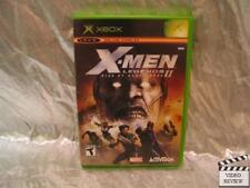 X-Men Legends II Rise of Apocalypse Xbox No Instructions