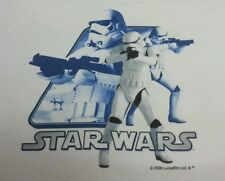 Star wars Stormtrooper 06 XL T-shirt white ringer FANTASTIC PRINT