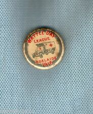 #D163. 1916  TIN BADGE. WATTLE DAY LEAGUE, ADELAIDE, AMBULANCE
