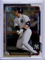 2015 Bowman Chrome Aaron Judge ROOKIE OF THE YEAR New York Yankees Hot Stud!