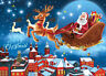 1000 Pieces Jigsaw Puzzles Educational Puzzle Toy for Adults Kid Santa Claus