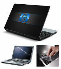 Laptop Skin HP Logo with Screen Guard and Key Board Protector (3in1 Combo)15.6""
