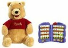 Disney Winnie The Pooh Talking Electronic Interactive Plush Educational NIB
