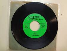 """T.R. & THE YARDSMAN: I Tried 2:30- Movin' Up 1:52-U.S. 7"""" 1965 Hideout Records"""
