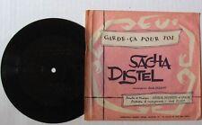 SACHA DISTEL - 45 Tours FLEXI - REVUE MUSIC HALL - GARDE CA POUR TOI - J. ELLIOT