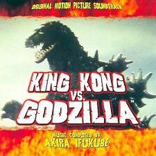 King Kong vs. Godzilla Soundtrack by Akira Ifukube (CD-2006, La-La Land) LIMITED