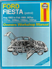 Ford Fiesta inc. XR2 1983-1989 Petrol models Haynes Owners Workshyop Manual
