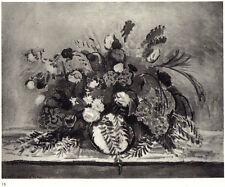 H. Matisse litho 'Bouquet au feuillage de poivrier' 1935 Frazier-Soye Paris- COA