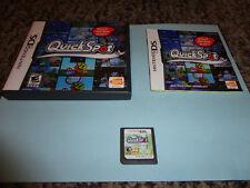 QuickSpot  (Nintendo DS, 2007) dsl dsi complete